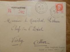 Lettre Adressée Au Maréchal Pétain - 1941-42 Pétain