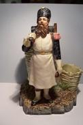 TABATIERE  -- SERVICE FUMEUR  -- Sgnée B.B. ( BERNARD  BLOCH  )  -GROGNARD De NAPOLEON  - MILITARIA  - - Ceramics & Pottery