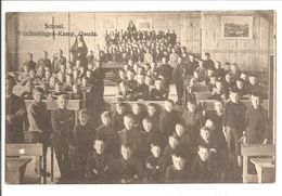 Gouda. School.Vluchtelingen-kamp. Internering-Grande Guerre-Oorlog 1914-1918 - Gouda