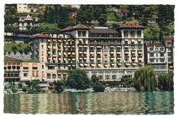 Suisse // Schweiz // Switzerland //  Vaud // Montreux, Hôtel Excelsior - VD Vaud