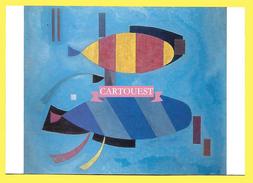 Vassily Kandinsky TOUS DEUX RAYES 1932 - Peintures & Tableaux