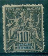 DIEGO SUAREZ . FAUX FOURNIER N° 29 N X Ttb. - Diégo-Suarez (1890-1898)