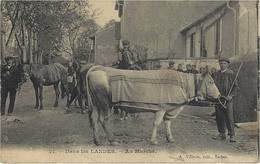 21- DANS LES LANDES - Au Marché - Ed. A Villatte - Otros Municipios