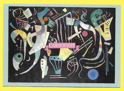Vassily Kandinsky FORMES MULTIPLES 1936 - Peintures & Tableaux