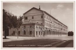 TO95 !!! PINEROLO CASERMA PRINCIPE AMEDEO SCUOLA CAVALLERIA 1938 F.P. !!! - Italia