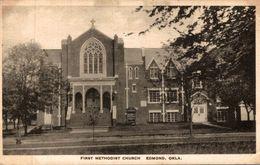 ETATS UNIS FIRST METHODIST CHURCH EDMOND OKLAHOMA - Etats-Unis