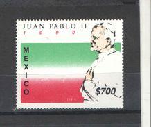 Messico PO 1990 Papa Paolo II° Scott.1648+ See Scan  Nuovi - Mexico