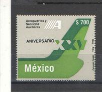Messico PO 1990 Aereoporto Service Scott.1653+ See Scan  Nuovi - Messico