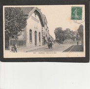 69  OULLINS -  Rue De La Gare, (Brasserie Du Chemin De Fer) - Oullins