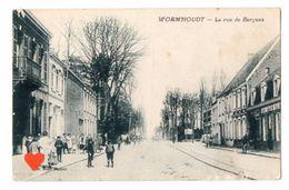 17734-LE-59-WORMHOUDT-La Rue De Bergues------------animée - Wormhout