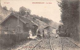 Chamouilley Gare Avec Train Canton Saint Dizier - Sonstige Gemeinden