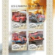 Djibouti 2017 Fire Engines - Djibouti (1977-...)