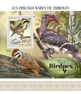 Djibouti 2017 Rare Birds - Djibouti (1977-...)