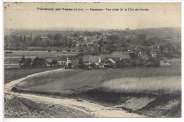 VILLEMAUR SUR VANNE - Panorama, Vue Prise De La Côte Des Bordes - Non Classés