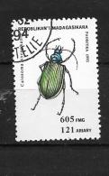 MADAGASCAR  1994 Beetles    USED - Madagascar (1960-...)