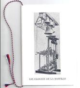 Plaquette Timbrée PRISE DE LA BASTILLE -livret Comité Des Fêtes De La Mairie Du IVe Arr. Paris - Franz. Revolution