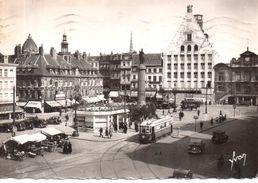 Lille - La Grande Place , L'ancienne Bourse ... - Lille