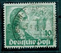 Berlin, 200. Geburtstag Von Johann Wolfgang Von Goethe, Nr. 61 Plattenfehler I, Gestempelt - Berlin (West)
