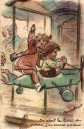 BOURET GERMAINE 1941 HUMOUR ON REFAIT LE TOUR DU MONDE J'AI ENCORE 40 SOUS.. - Bouret, Germaine