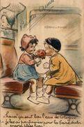 BOURET GERMAINE 1941 HUMOUR HUM ! CA SENT BON L'EAU DE COLOGNE ! JE LES AI PARFUMEES ... - Bouret, Germaine