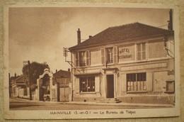 1 CPA 91 MAINVILLE Le Bureau De Tabac Café Des Sports (1949) - Other Municipalities