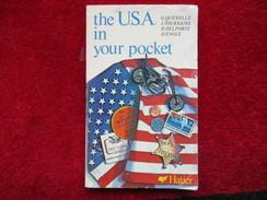 The U.S.A In Your Pocket (G. Quénelle / J. Tournaire / D. Delporte / D. Engle) éditions Hatier - Books, Magazines, Comics
