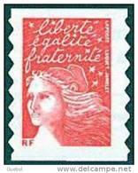 France Autoadhésif N°   30 ** Ou 3419 - MARIANNE DE LUQUET Le TVP Rouge -> RF - France