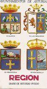 Calendario Periodico Región De Asturias, Fournier - Tamaño Pequeño : 1971-80