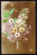 Fleurs - Bouquet Dans Un Vase (6) - Circulé - Circulated - Gelaufen - 1919. - Fleurs, Plantes & Arbres