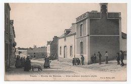 THEIX (Morbihan. 56) - Route De Nantes - Une Maison Modern-style -animée - Cochon - Voyagée -  TTB - - Autres Communes