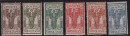 1926 Tripolitania Pro Istituto Coloniale Serie Cpl MLH - Tripolitania