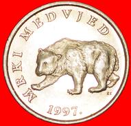√ BEAR: CROATIA ★ 5 KUNA 1997.! LOW START ★ NO RESERVE! - Croatia