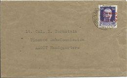 GM03-Lettera Da Napoli Al Quartier Generale Amgot Con 50 Cent. Sovr. 10.12.1943 - Rara - Occup. Anglo-americana: Napoli
