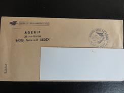 Nantes Agerip - 1986 - Bougez Avec La Poste - Lettre En Franchise - Marcophilie (Lettres)