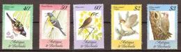 Antigua En Barbuda  1984 Yvertn° 774-778 *** MNH Cote 16 Euro Faune Oiseaux Vogels Birds - Antigua Et Barbuda (1981-...)