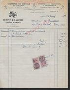 EQUITATION FACTURE ILLUSTRÉE DE 1938 COMMERCE DE CHEVEAUX DEMONT & LACOMBE À TONNEINS : - Equitation
