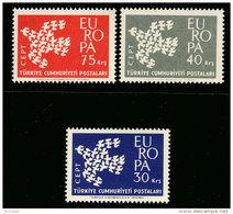 Turquie 1820/22 ** - Europa  MNH - 1961