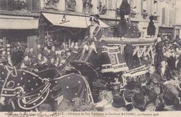 Nancy,obséques Du Cardinal Mathieu 1908 - Nancy