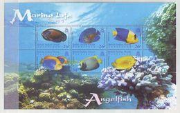 British Indian Ocean Territory 2006 Marine Life - Angelfish Minisheet Mint ** - Territorio Británico Del Océano Índico