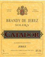 1354 - Espagne - Andalousie - Brandy De Jerez - Solera - Catador - Jesa - Jerez - Etiquettes