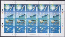 British Antarctic Territory 2002 CCAMLR 4v In Sheetlet (unfolded) ** Mnh (F6779) - Brits Antarctisch Territorium  (BAT)