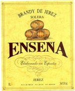 1356 - Espagne - Andalousie - Brandy De Jerez - Solera - Enseña - Jerez - Etiquettes