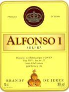 1360 - Espagne - Andalousie - Brandy De Jerez - Alfonsi I - Solera - Bernal Y Cia. Jerez - Etiquettes