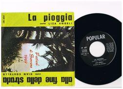 2- Italia 1969 - 45 Giri Festival Sanremo 1969 -Alla Fine Della Strada Gian Costello - La Pioggia Liza Angeli - - Complete Collections