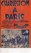 PARTITION MUSIQUE- CHARLESTON A PARIS-CHRISTIAN JOLLET-ANDRE VERCHUREN-RENE MARC-LA POLKA DES BRETONS-BRETAGNE - Scores & Partitions