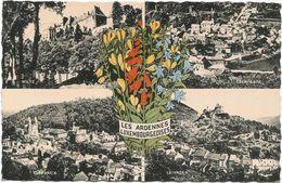 X477 Luxembourg - Les Ardennes Luxemboureoises - Wiltz - Esch Sure - Clervaux - Vianden / Viaggiata 1962 - Cartoline