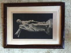 """Fotoincisione Anni '30 """" La Boscaiola Di Pierre Braecke """" Con Cornice - Prints & Engravings"""