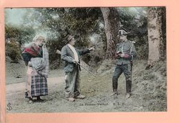Cpa Carte Postale Ancienne - Le Proces Verbal  Eld - Andere