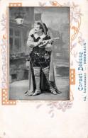 (33) Carte Pub Publicité - BORDEAUX - 42 Intendance - Corset Déesse - Renaud Don Juan Opéra - Théâtre Acteur - Bordeaux