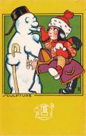 (33) Carte Pub Publicité - BORDEAUX - 111 113 115 Rue Ste Catherine - Chaussures Raoul - Illustration Sculpture - Bordeaux